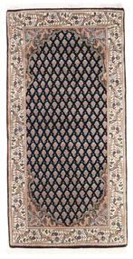 Mir Indické Koberec 61X123 Orientální Ručně Tkaný Tmavošedý/Hnědá (Vlna, Indie)