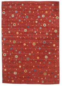 Loribaf Loom Koberec 165X240 Moderní Ručně Tkaný Červenožlutá/Tmavě Červená (Vlna, Indie)