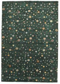 Loribaf Loom Koberec 241X345 Moderní Ručně Tkaný Tmavě Zelený (Vlna, Indie)