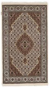 Tabriz Royal Koberec 91X156 Orientální Ručně Tkaný Tmavě Hnědá/Světle Šedá ( Indie)