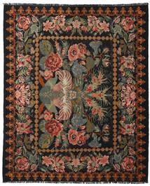 Kilim Rose Moldavia Koberec 225X277 Orientální Ruční Tkaní Tmavošedý/Tmavě Hnědá (Vlna, Moldavsko)