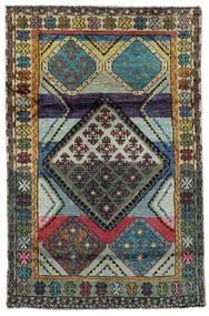 Moroccan Berber - Afghanistan Koberec 111X169 Moderní Ručně Tkaný Černá/Tmavošedý (Vlna, Afghánistán)