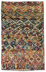 Moroccan Berber - Afghanistan Koberec 117X182 Moderní Ručně Tkaný Tmavošedý/Světle Šedá (Vlna, Afghánistán)