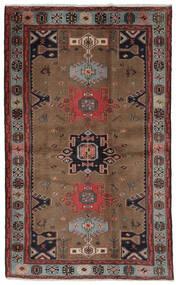 Hamedan Koberec 121X191 Orientální Ručně Tkaný Tmavě Hnědá/Černá (Vlna, Persie/Írán)