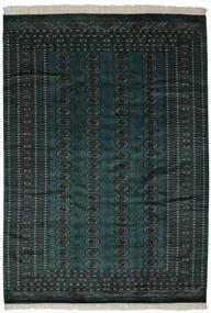 Pákistán Bokhara 2Ply Koberec 190X270 Orientální Ručně Tkaný Černá (Vlna, Pákistán)