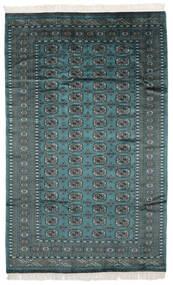 Pákistán Bokhara 2Ply Koberec 150X240 Orientální Ručně Tkaný Černá/Tmavý Turquoise (Vlna, Pákistán)