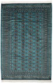 Pákistán Bokhara 2Ply Koberec 158X230 Orientální Ručně Tkaný Černá/Tmavý Turquoise (Vlna, Pákistán)