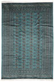 Pákistán Bokhara 2Ply Koberec 183X264 Orientální Ručně Tkaný Tmavý Turquoise/Černá (Vlna, Pákistán)