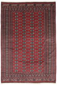 Pákistán Bokhara 2Ply Koberec 184X270 Orientální Ručně Tkaný Černá/Tmavě Červená (Vlna, Pákistán)