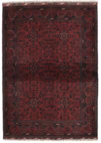 Afghán Khal Mohammadi Koberec 105X145 Orientální Ručně Tkaný Černá (Vlna, Afghánistán)