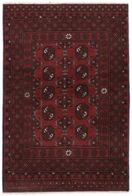 Afghán Koberec 100X150 Orientální Ručně Tkaný Černá (Vlna, Afghánistán)