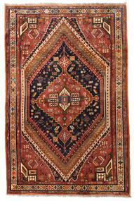 Ghashghai Koberec 175X270 Orientální Ručně Tkaný Tmavě Hnědá/Tmavě Červená (Vlna, Persie/Írán)