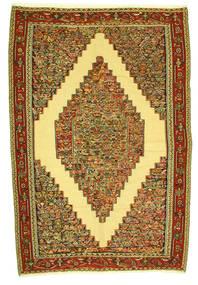 Kelim Senneh Koberec 198X292 Orientální Ruční Tkaní (Vlna, Persie/Írán)